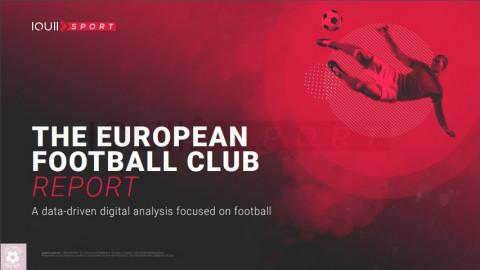 """IQUII Sports presenta su reporte """"The European Football Club"""", un análisis digital orientado en los datos enfocado en el fútbol."""