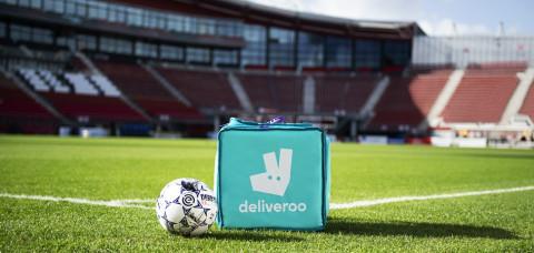 Deliveroo amplía su presencia en el fútbol europeo como patrocinador de la Eredivisie