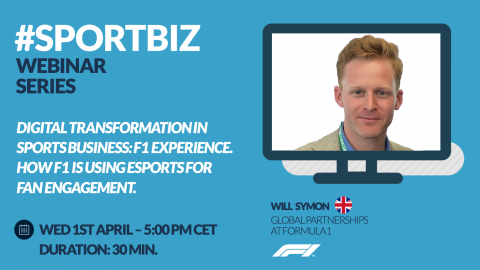 Mira el Replay // SPORTBIZ Webinar Series: Digital Transformation in Sports Business: F1 Experience.