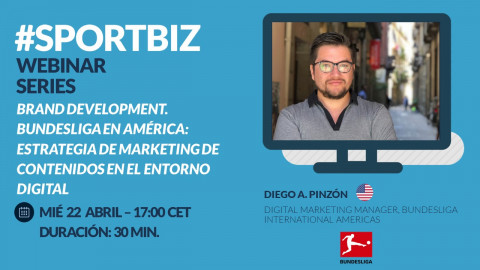 Replay Webinar Series by SPORTBIZ: Brand Development: Bundesliga en América.