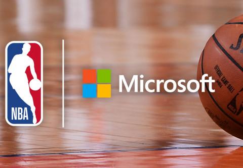 La NBA firma una alianza tecnológica multifacética con Microsoft