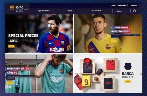 FC Barcelona estrena su propia tienda online para maximizar sus ingresos por venta de 'merchandising'