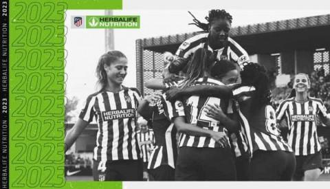 Herbalife Nutrition renueva como patrocinador principal del Atlético de Madrid Femenino hasta 2023