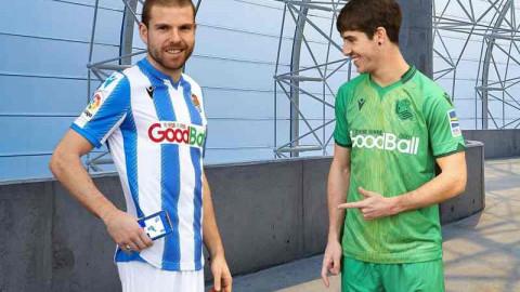 La Real Sociedad prueba la tecnología NFC en sus camisetas para aumentar las oportunidades de patrocinio